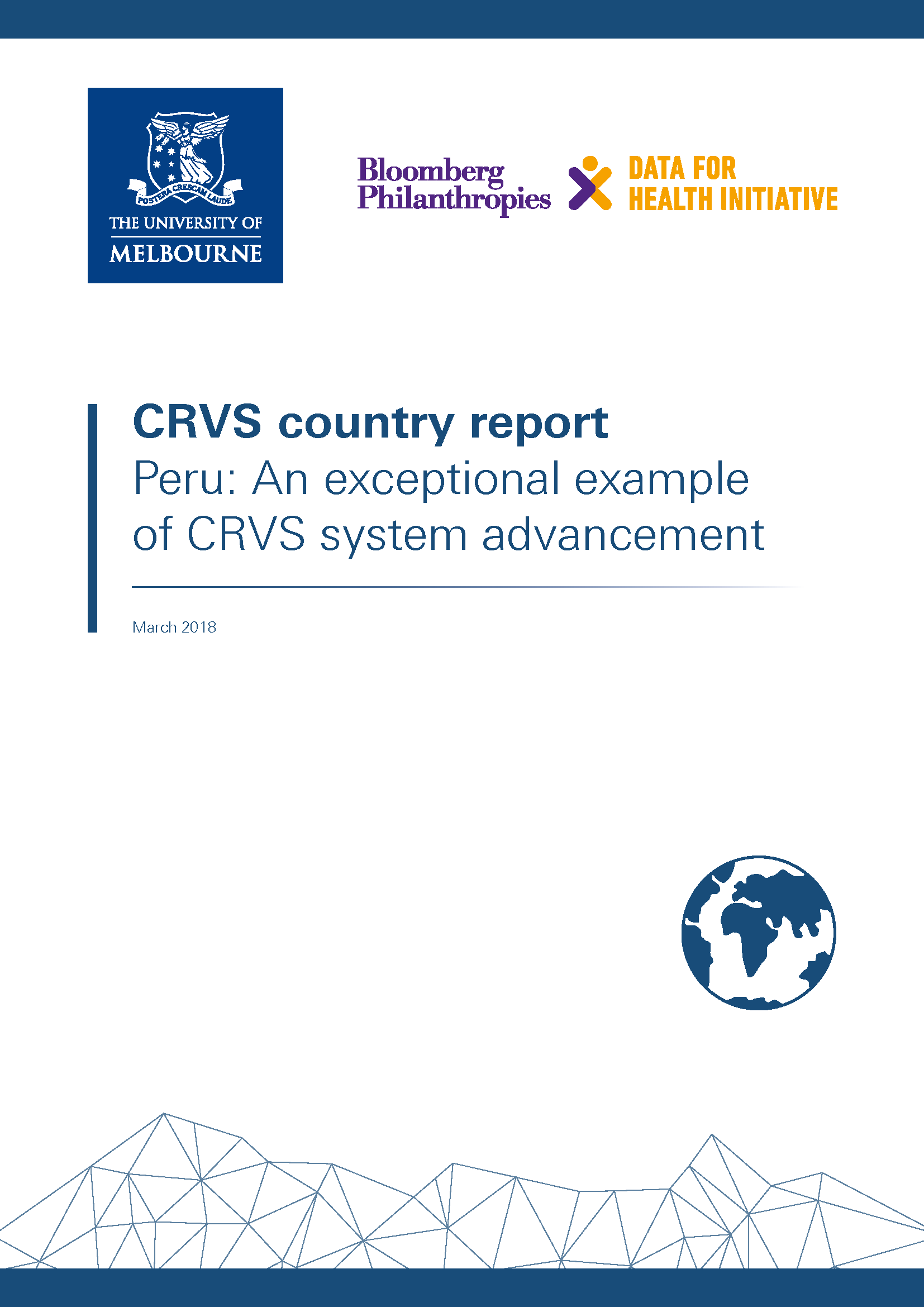 Peru: An exceptional example of CRVS system advancement thumbnail