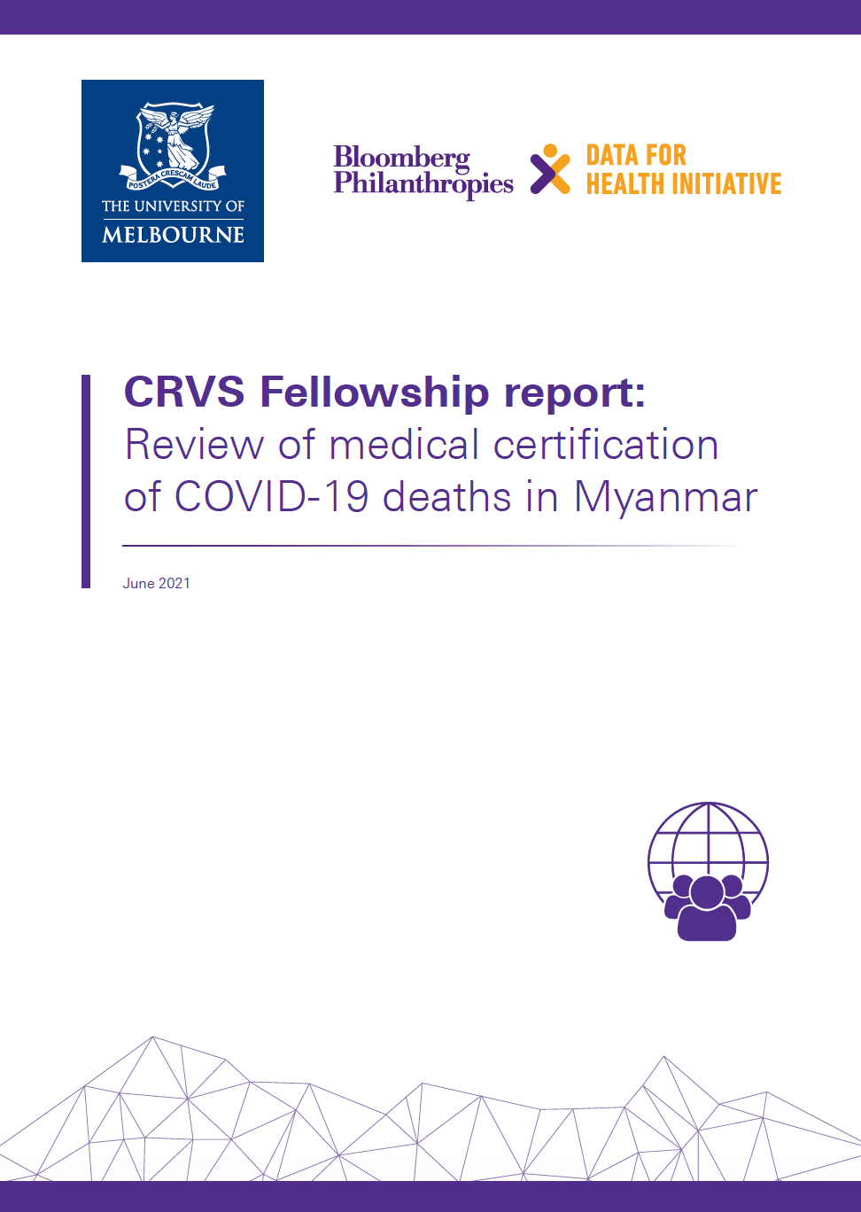CRVS Fellowship report: Review of medical certification of COVID-19 deaths in Myanmar thumbnail