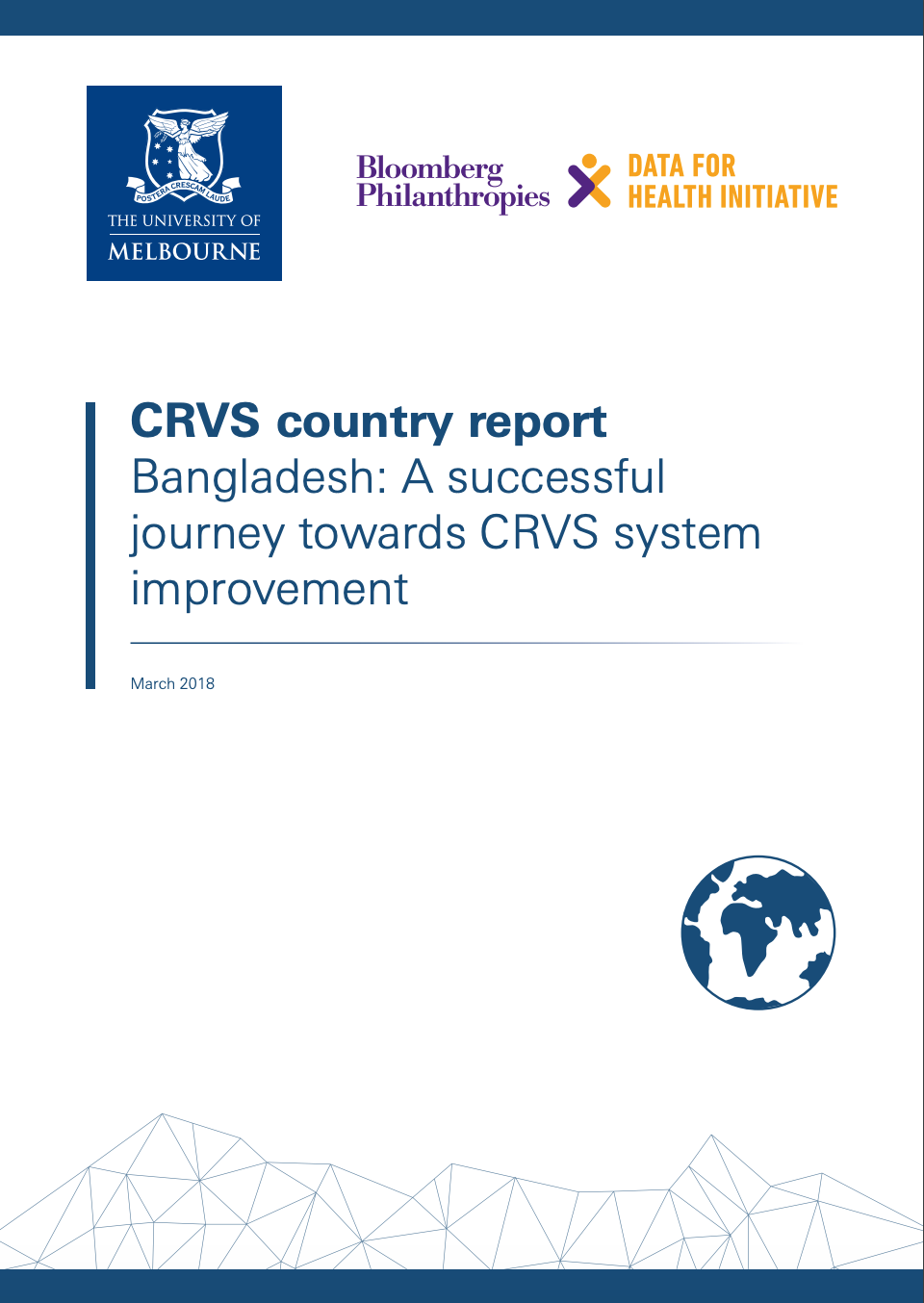 CRVS country report Bangladesh: A successful journey towards CRVS system improvement thumbnail