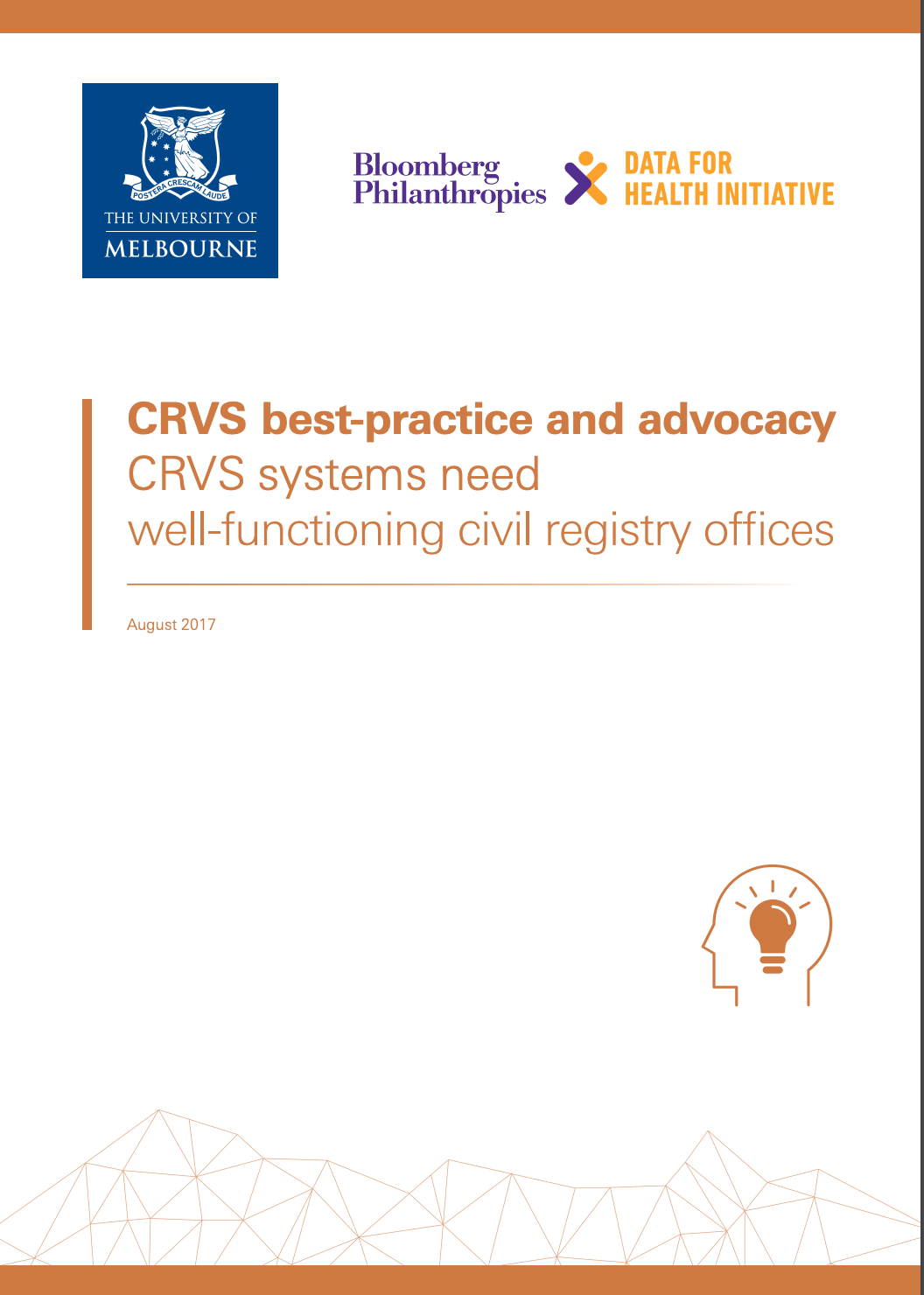 CRVS best-practice and advocacy