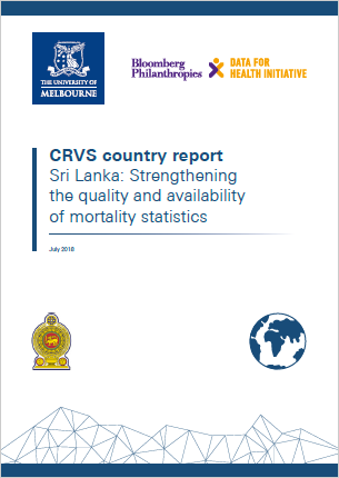 Sri Lanka: Strengthening the quality and availability of mortality statistics thumbnail