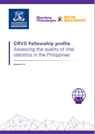 Fellowship profile: Assessing the quality of vital statistics in the Philippines thumbnail