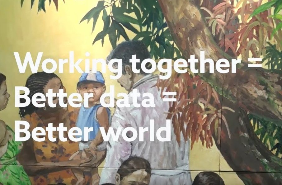 Working together = Better data = Better world video