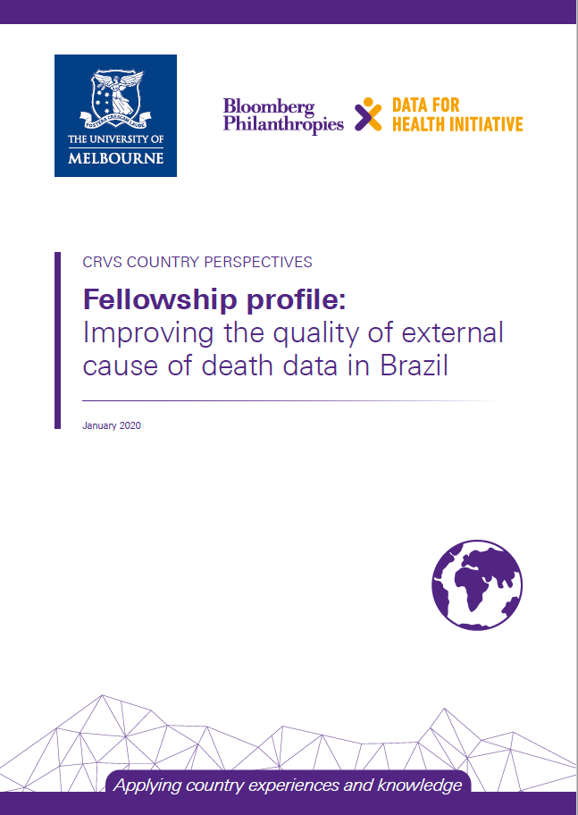 Fellowship profile: Improving the quality of external cause of death data in Brazil thumbnail