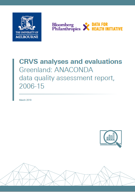 Greenland: ANACONDA data quality assessment report, 2006-15 thumbnail