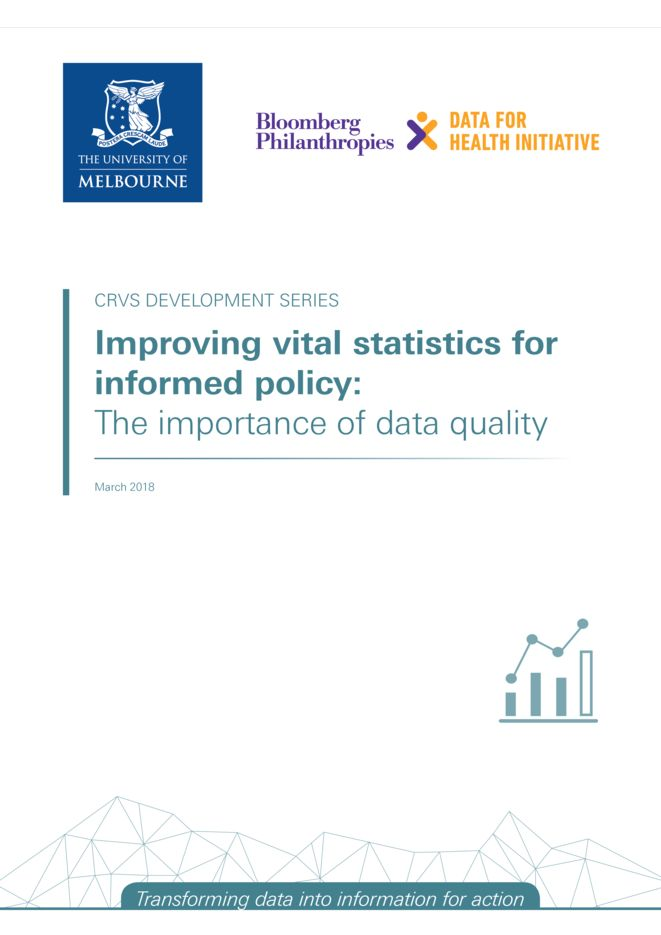 Improving vital statistics for informed policy: The importance of data quality