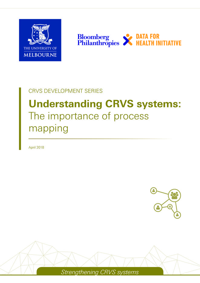 Understanding CRVS systems: The importance of process mapping