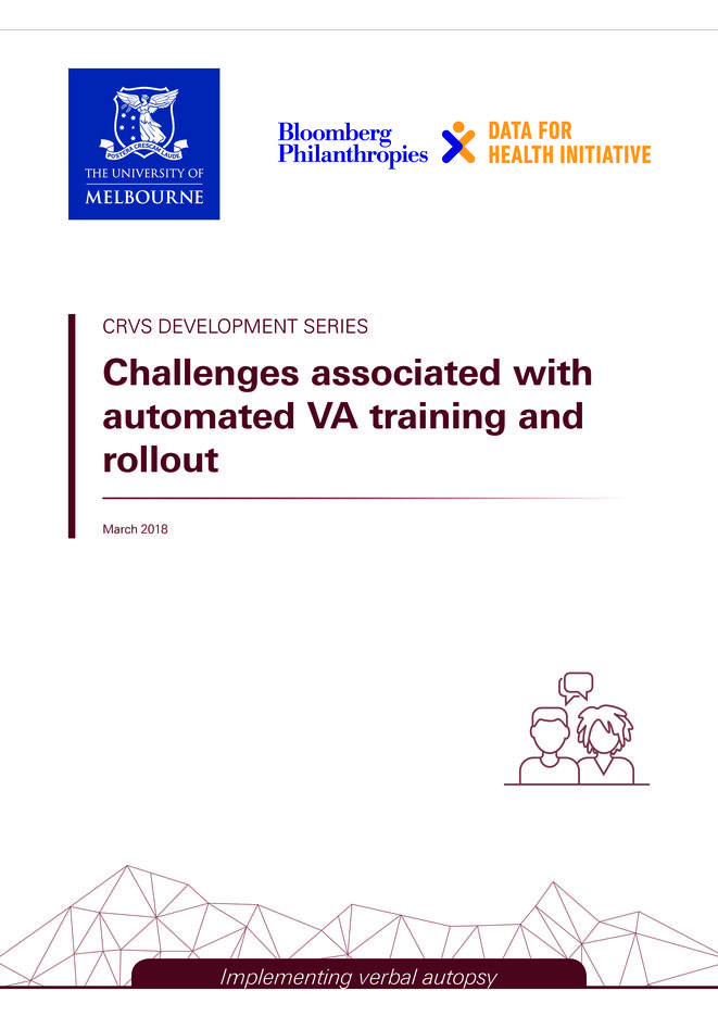 Challenges associated with automated VA training and rollout