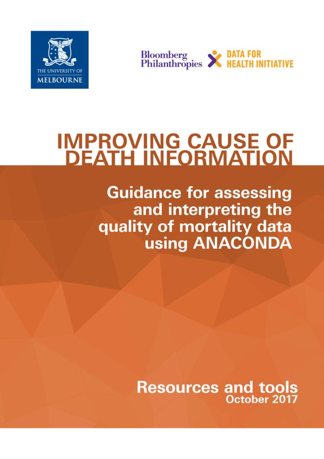 Guidance for assessing and interpreting the quality of mortality data using ANACONDA