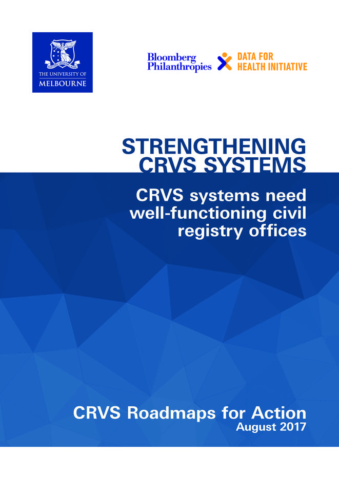 CRVS systems need well-functioning civil registry offices