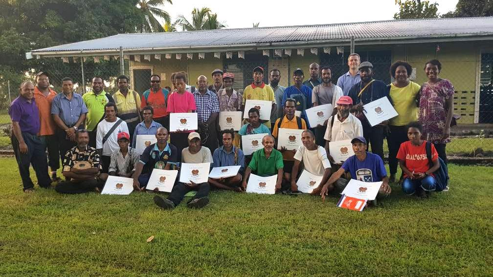 Ward recorder training at Rabaraba_PNG