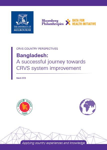 Bangladesh: a successful journey toward CRVS system improvement