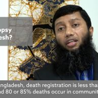 Analysis of Bangladesh's verbal autopsy pilot in Kaligang